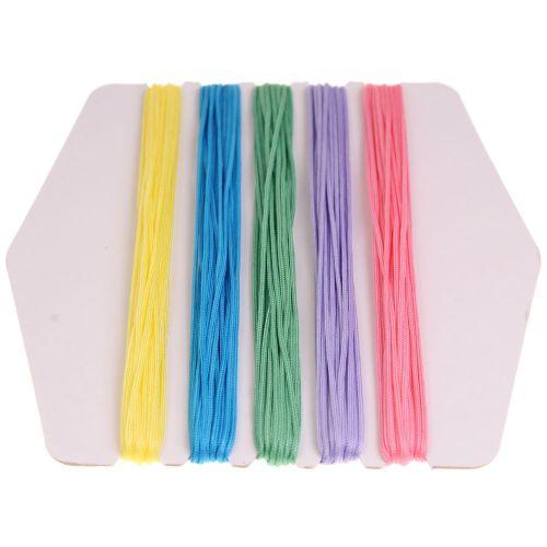 109. Coloured Ravel Cord