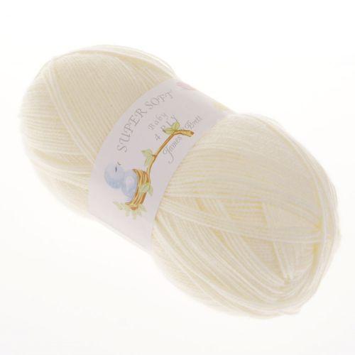 102. 4-Ply 'Super Soft' Acrylic - Cream