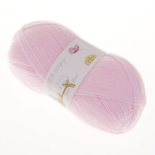 105. 4-Ply 'Super Soft' Acrylic - Baby Pink