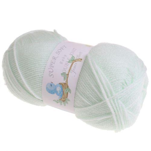 111. 'Super Soft' Baby DK Acrylic - Mint 1