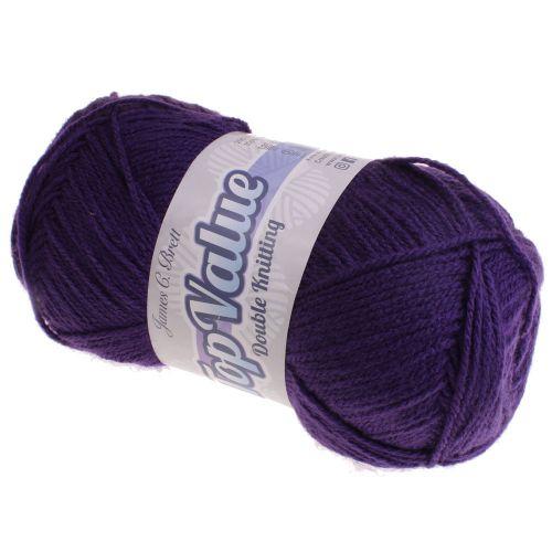 117. 'Top Value' DK Acrylic - Purple 8432