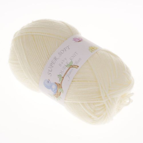 102. 'Super Soft' Baby DK Acrylic - Cream 9