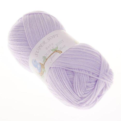 112. 'Super Soft' Baby DK Acrylic - Lilac 3