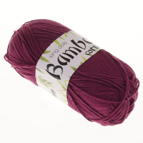 106. Bamboo Cotton - Wine 529