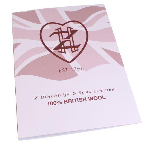 132. British Wool - Shade Card