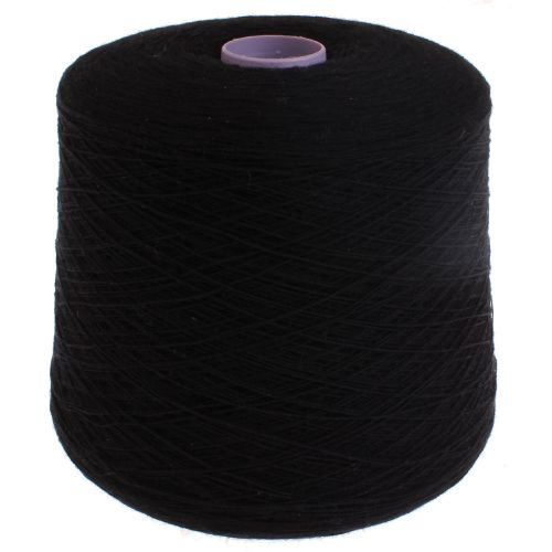 106. Super Geelong Lambswool - Black 1