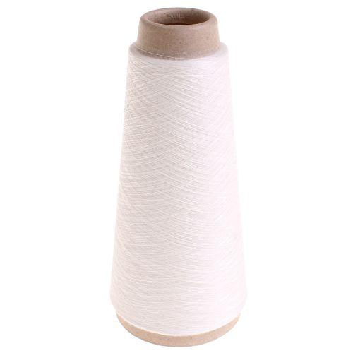 101. 'Kimono' Thermosetting Yarn - White 0051