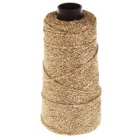 101. Knitted Lurex Spool - Gold