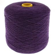 164. Lambswool Yarn - Aubergine 375