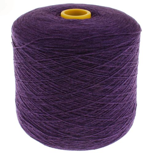 100166. Lambswool Yarn - Aubergine 375