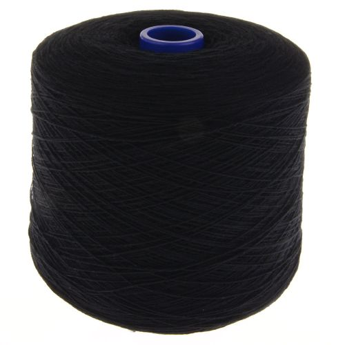 100105. Lambswool Yarn - Black 1