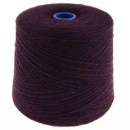 165. Lambswool Yarn - Blackgrape 186