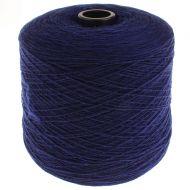 136. Lambswool Yarn - Dk Cobalt 377