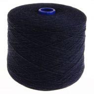 133. Lambswool Yarn - Indigo Melange 12