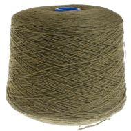 118. Lambswool Yarn - Green Bean 402 NEW