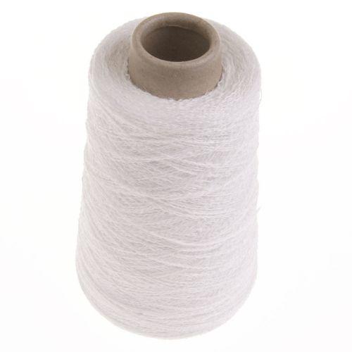 101. 86% Linen & 14% Polyester - White