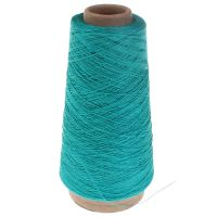 107. 2/28 Linen - Turquoise 3467