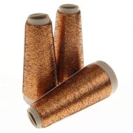 116. Classic Supported Lurex - Copper / Black 5223