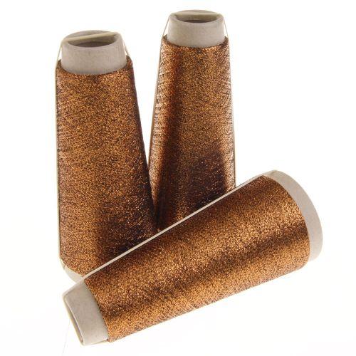 110. Classic Twist Lurex - Bright Copper 1397