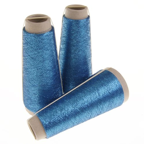 140. Classic Twist Lurex - Blue Lotus 1404
