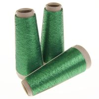 135. Classic Twist Lurex - Emerald Green 1424