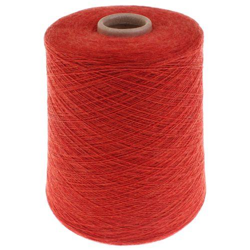 114. Merino Wool 2/30 - Arancio / Ardesio