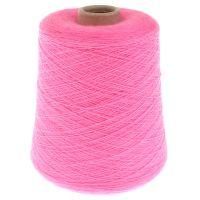 110. Merino Wool 2/30 - Pinkfluo / Prata