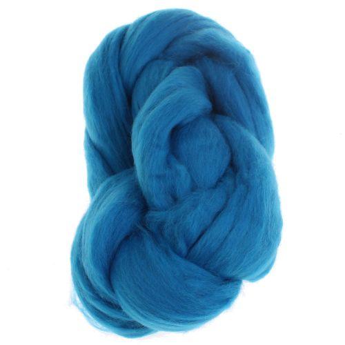 104. Merino Fibre Top - Blue