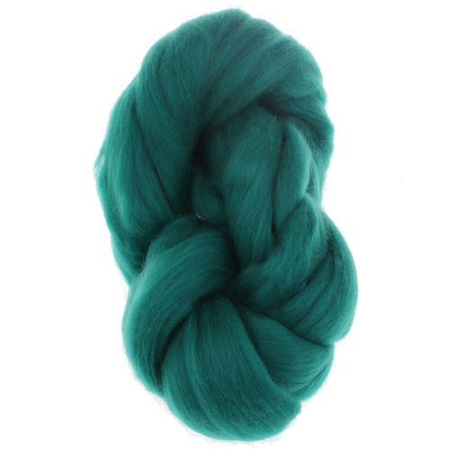 105. Merino Fibre Top - Jade