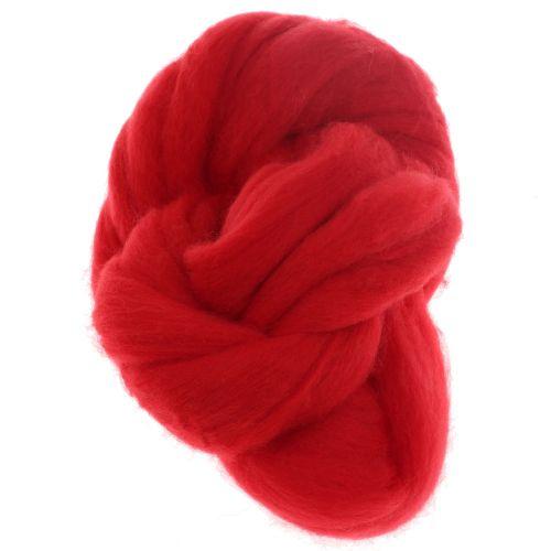 109. Merino Fibre Top - Red