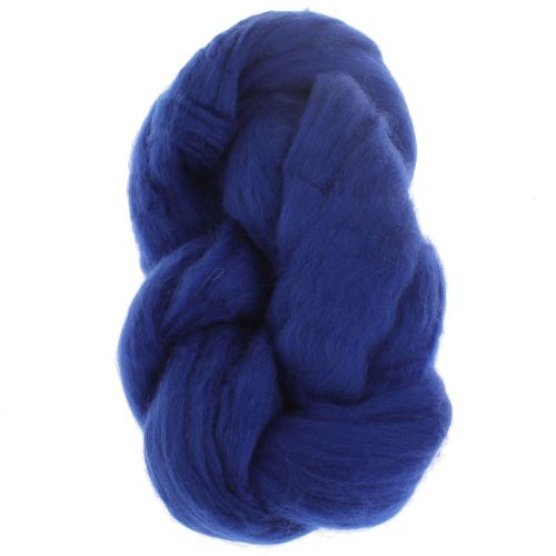 103. Merino Fibre Top - Royal