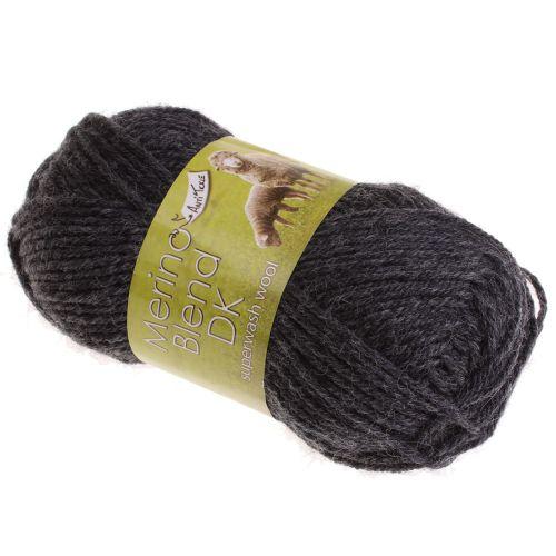 111. DK Merino Wool - Graphite 702