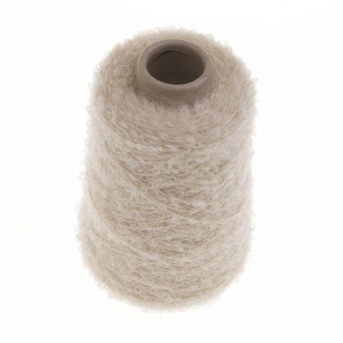 101. Mohair & Wool Loop - Ecru