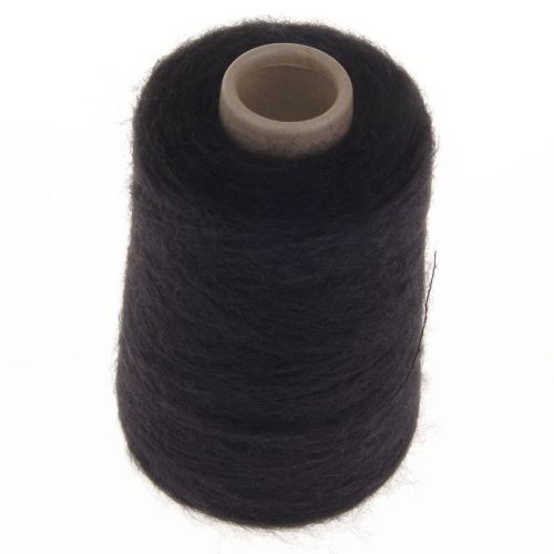 106. 66% Mohair, 30% Nylon, 4% Wool - Black 628