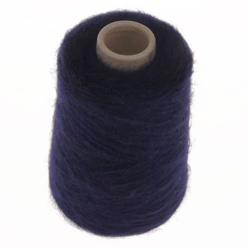 109. 66% Mohair, 30% Nylon, 4% Wool - Navy 1556
