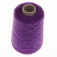 111. 66% Mohair, 30% Nylon, 4% Wool - Violet 1537