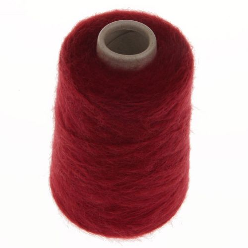 112. 66% Mohair, 30% Nylon, 4% Wool - Ruby 1528