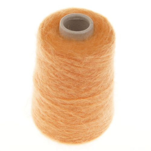 113. 66% Mohair, 30% Nylon & 4% Wool - Orange 1515