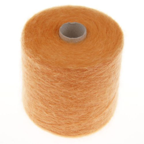 113. 66% Mohair, 30% Nylon & 4% Wool (L) - Orange 1515