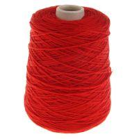 108. 'New Jersey' Merino Wool - Red 0063