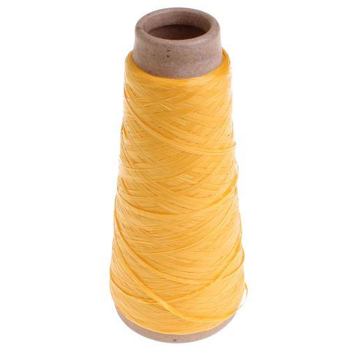 105. Raffia Type - Yellow