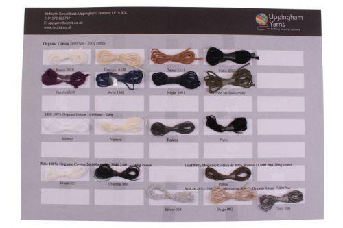 304. Sample Sheet - Organic Cottons