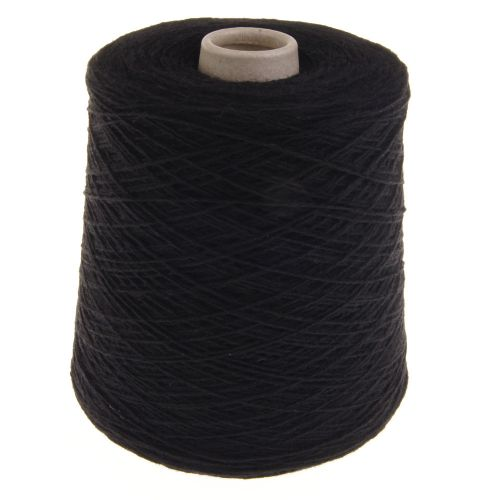 106. Fine 4-Ply Shetland Type Wool - Black 103