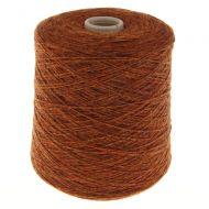 117. Fine 4-Ply Shetland Type Wool - Ember 115