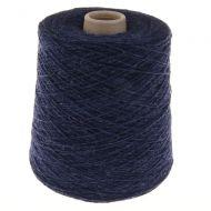 125. Fine 4-Ply Shetland Type Wool - Indigo 120