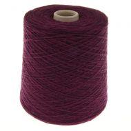 124. Fine 4-Ply Shetland Type Wool - Plum 176