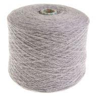 103. Fine 4-Ply Shetland Type Wool L - Silver Grey 135