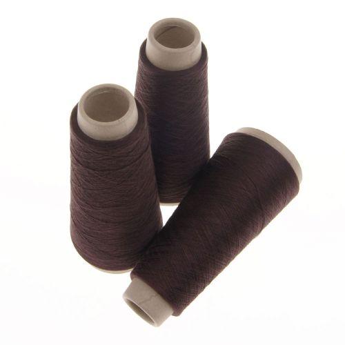 107. Spun Silk Yarn - Brown 900