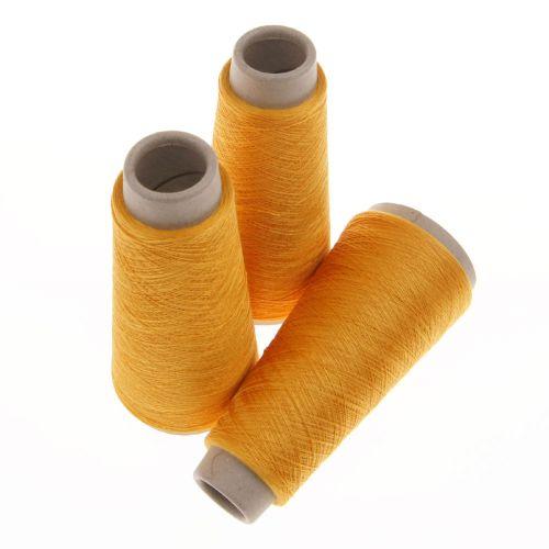 110. Spun Silk Yarn - Orange 4546