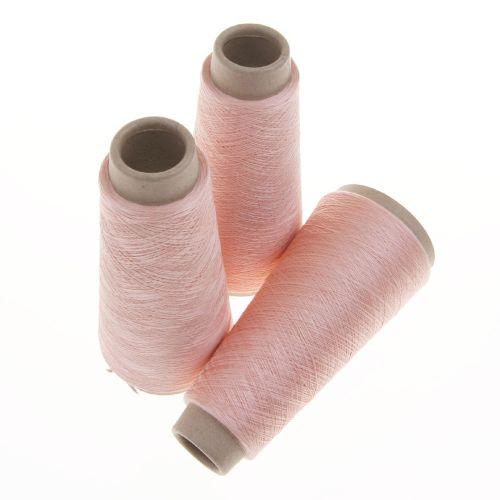 112. Spun Silk Yarn - Peach 4651